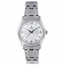 Reloj Mujer Silver Bulova 96l005 Original Envío Gratis