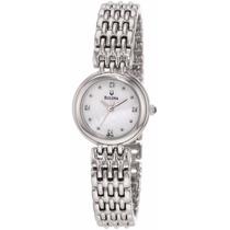 Reloj Mujer Diamond Bulova 96p122 Original