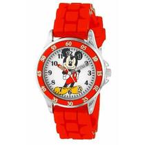 Reloj Disney Mikey Mouse Extensible Rojo