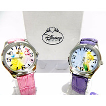 Mca.disney Reloj De Princesas O Tinkerbell Originales.