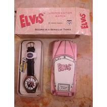 Remate Reloj Colección Elvis Presley Fossil Caddillac 1990s