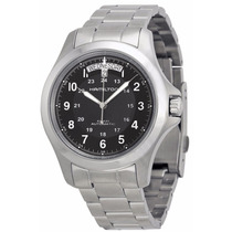 Reloj Hamilton Khaki King Ii Automatico Acero H64455133