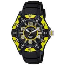 Reloj Q&q Masculino Negro - Amarillo