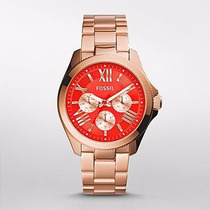 Reloj Fossil Cecile Multifunction Rose-tone Stainless Am4559