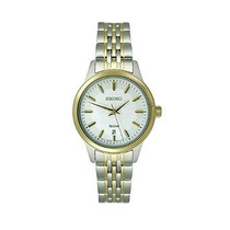 Reloj Seiko Plateado Femenino
