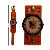 Reloj De Mano Shingeki No Kiojin Escudo Con Correa Gruesa