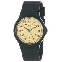 Reloj Casio Mq24-9b Clásico 24 Horas 30 Metros
