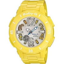 Reloj Casio #bga170-9b Amarillo