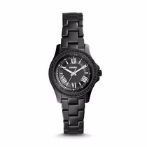 Cecile Black Ceramic Watch-fossil