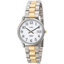 Reloj Timex Wtmx1630 Plateado Con Dorado