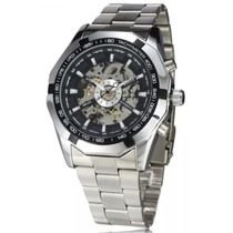 Reloj Jaragar Winner Tm340 Pulso Acero Inoxidable Nuevo