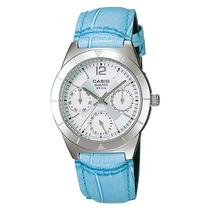 Reloj Casio Dama Ltp-2069l-7a2vdf Analogico 100% Original