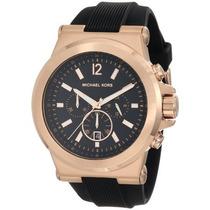 Reloj Michel Kors Caballero Mk 8184 Oro Rosa Envío Gratis