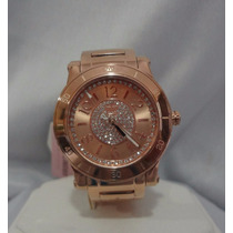 Juicy Couture, Delicado Reloj Metalico Tipo Oro Rosa