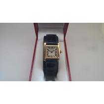 Cartier Tank Oro Solido 18k 100% Original Como Nuevoeste Her