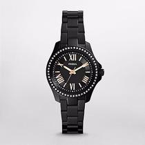 Reloj Fossil Jesse Black Stainless Steel Watch Am4585