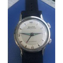 Reloj Bulova Wrist Alarma Acero Inox.coronas Originales