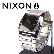 Reloj Nixon Banks Acero, Doble Maquinaria, Cristal Mineral