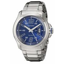 Reloj Citizen Eco-drive Acero Inoxidable Azul Aw1350-83m