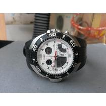 Citizen Promaster Con Sensor Termómetro Reloj Con Su Estuche