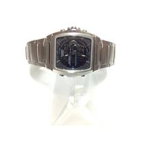 Reloj Casio 4334 De Acero Inoxidable Analógo Y Digital