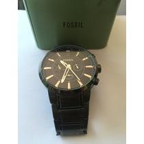 Vendo Reloj Fossil Fs4778 Negro Supér Cuidado
