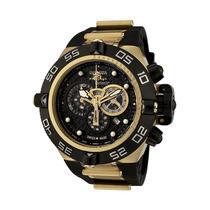 Reloj Invicta Subaqua Iv Cronógrafo Acero, Caucho Negro 6583