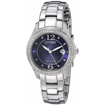 Reloj Citizen Eco-drive Acero Azul Mujer Fe1140-86l