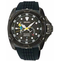 Reloj Seiko Velatura Kinetic Direct Drive Caucho Srh013