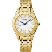 Reloj Seiko Dorado Femenino Wsk47