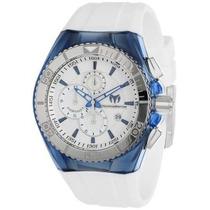 Reloj Technomarine Blanco Con Azul