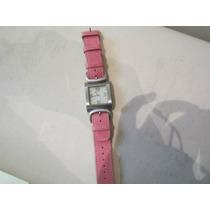 Reloj Guess Original Automatico De Dama Extensible De Piel