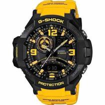Reloj G-shock Ga-1000-9b Amarillo