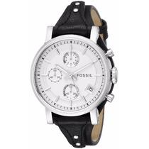 Reloj Fossil Es3817 Chronograph Boyfriend Dama Envio Gratis
