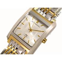 Reloj Burberry Original Zafiro Chapa De Oro Super Fashion Un