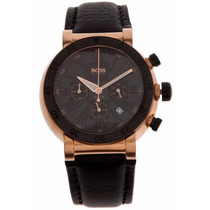Reloj Hugo Boss Classic Cronógrafo Piel Negra 1512312
