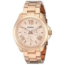 Reloj Fossil Am4511 Dorado