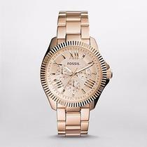 Reloj Fossil Cecile Multifunction Rose-tone Am4569 Watchito