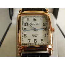 Hermoso Y Elegante Reloj Womage 100% Original Para Dama,