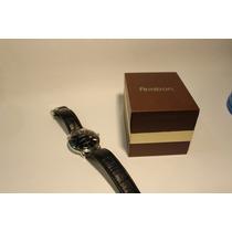 Reloj Armitron Negro De Piel