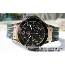 Hublot Big Bang Oro Rosa Y Ceramica (cartier,tag , Rolex Op4
