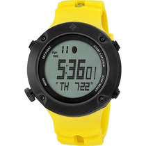 Reloj Deportivo Digital Columbia Tidewater Amarillo