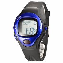 Reloj Monitor Ritmo Cardíaco Pulso Y Calorias Medidor