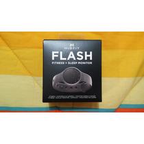 Pulsera Monitor De Actividad Y Sueño Misfit Flash. Negro
