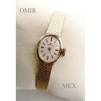 Reloj Hamilton Vintage Manual Para Dama Chapa De Oro 10k.