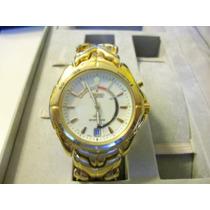 Reloj Seiko Kinetic Dorado Como Nuevo