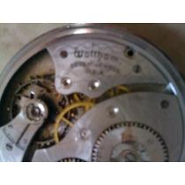 Reloj Bolsillo Waltham Antiguo Cuerda