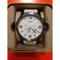 Reloj Fossil Jr1427 - Correa De Silicón