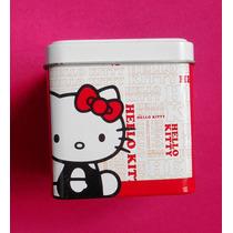 Hello Kitty Estuche Cajita Metalica P/reloj Vv4