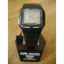 Reloj Casio Db-36 Data Bank, Multi Lingual, 10 Year Battery.